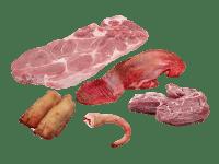 soepvlees pakket bosvarken