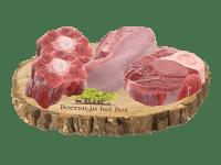 Ouderwets soepvleespakket van het natuurrund